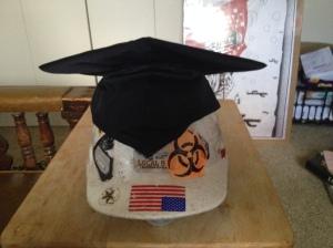hard hat grad hat